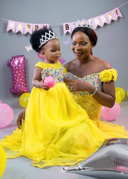 Elite Studio Nigeria - One Year Baby Photo Shoot Ikeja Lagos