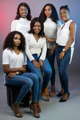 Elite Studio Nigeria - Group & Friends Photography Shoot Lagos
