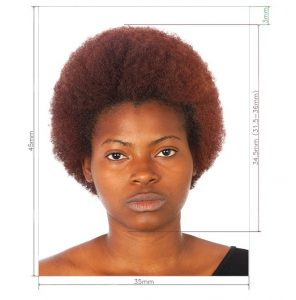 Passport Photo Requirements for South Africa Visa in Nigeria