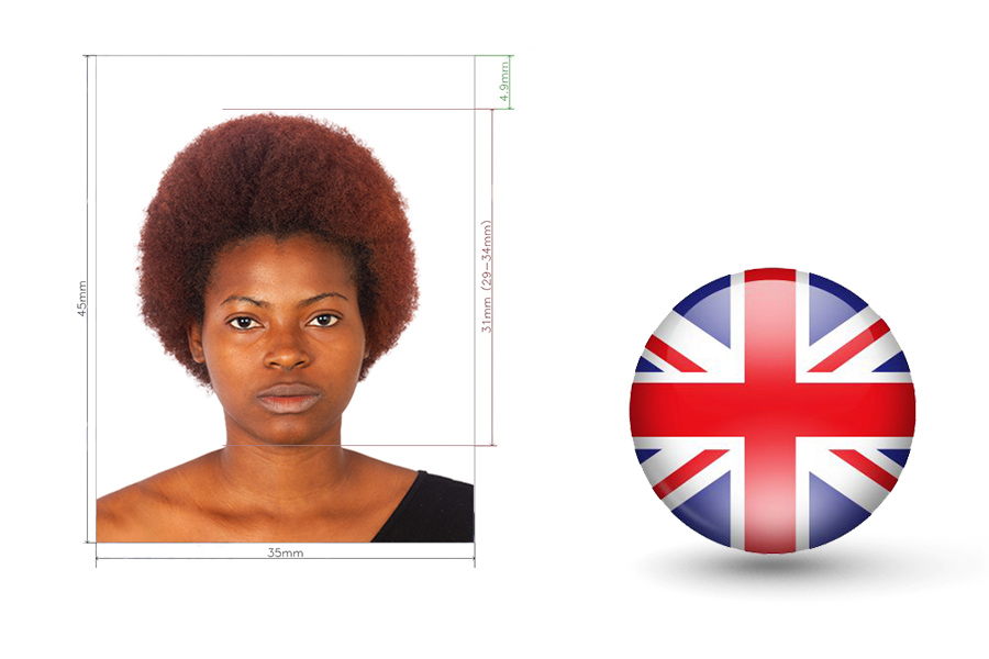 Passport Photo Requirements for UK Visa in Nigeria