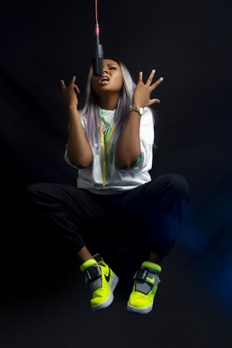 Elite Studio Nigeria - Mz Kiss Musician Portrait Photographer